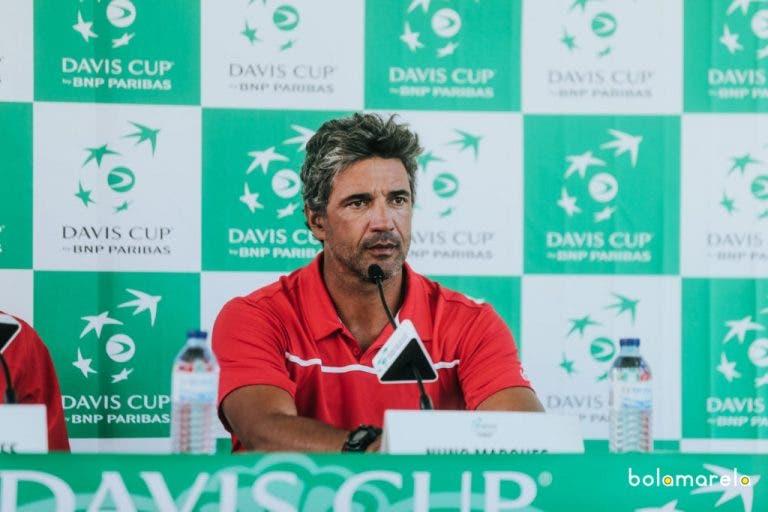 Nuno Marques abandona a seleção nacional da Taça Davis