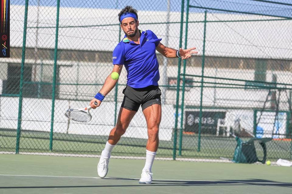 Fred Gil continua em grande e está na final do ITF de Weston