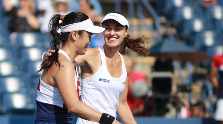Hingis e Chan fazem história e conquistam o US Open