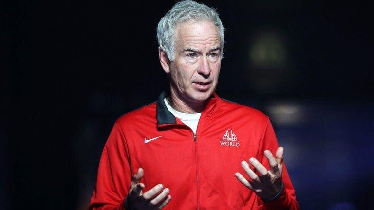McEnroe 'chocado' por Auger Aliassime recusar a Laver Cup