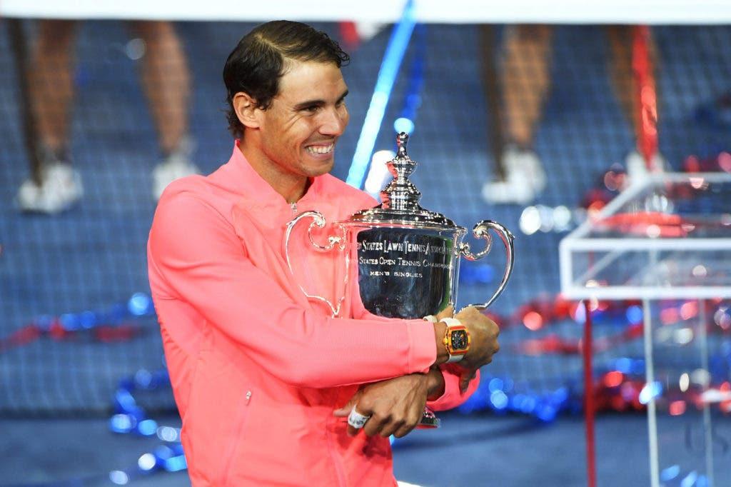 Mundo do ténis reage à 16ª Grand conquista de Nadal