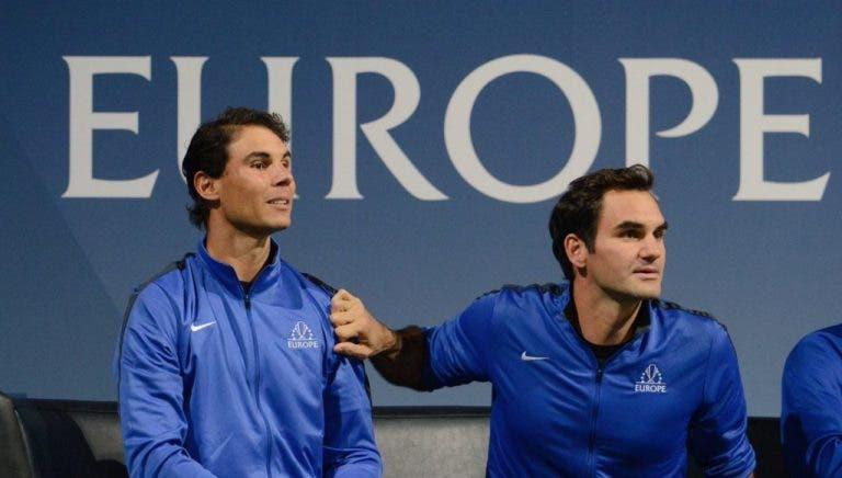 Norman, Rusedski, Pat McEnroe: todos contra a 'ultrapassagem' de Federer a Nadal