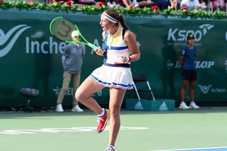 Seul. Ostapenko bate brasileira Bia Maia e conquista primeiro título desde Roland Garros