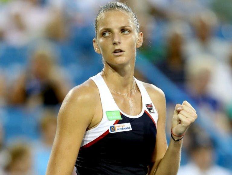 Karolina Pliskova e o sorteio de Singapura: «Acho que tive sorte com o grupo»