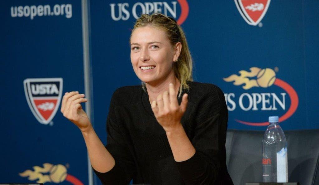 Sharapova sai em defesa de Nadal no Twitter: «É essa a tua escolha de tweet?»