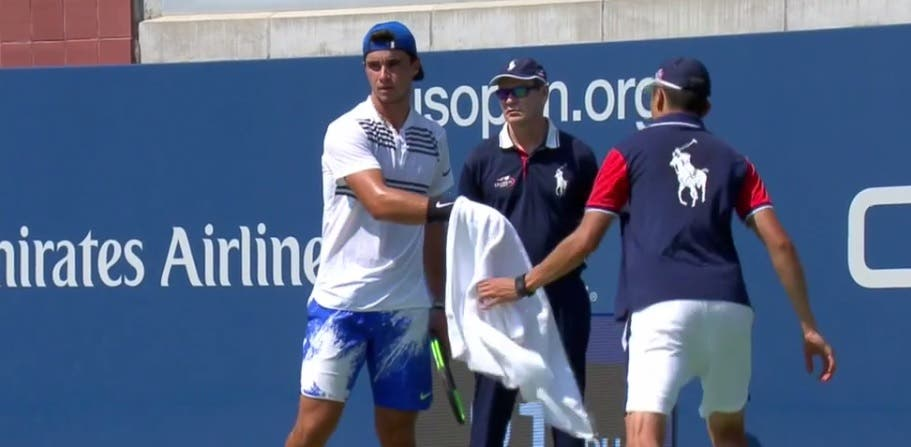 Duarte Vale travado nas meias-finais de pares juniores do US Open