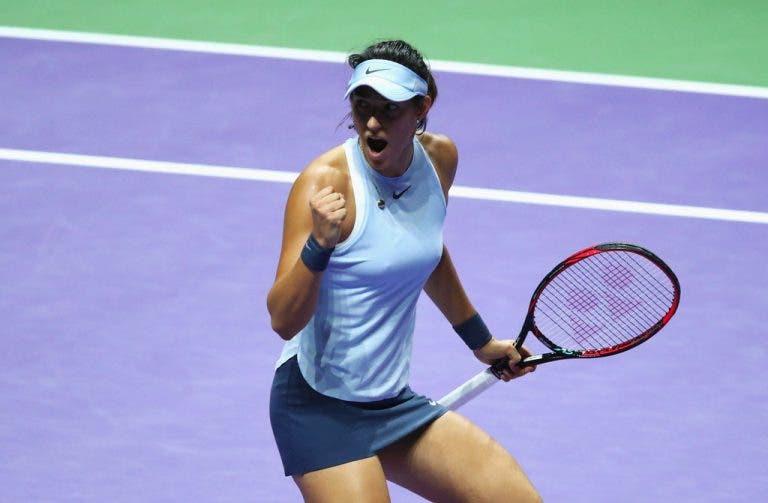 Garcia bate Svitolina em quase três horas, qualifica Wozniacki e deixa o resto numa (enorme) embrulhada