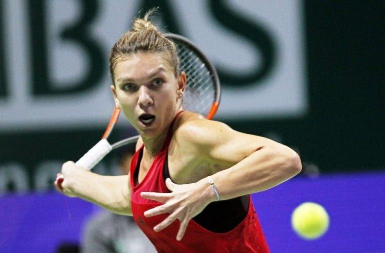 WTA Finals. Halep joga muito e derrota Garcia no primeiro encontro do Grupo Vermelho