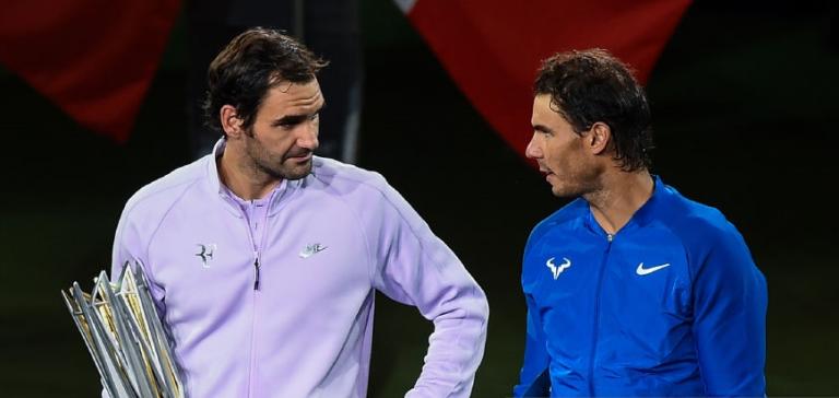 Nadal sobre Federer: «Temos uma relação positiva, com muito respeito»