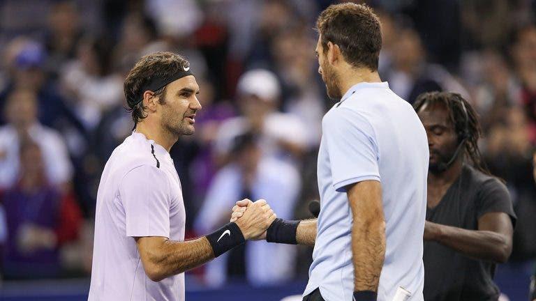 Del Potro desiste da exibição com Federer: «O meu joelho não está pronto para defrontar o melhor da história»