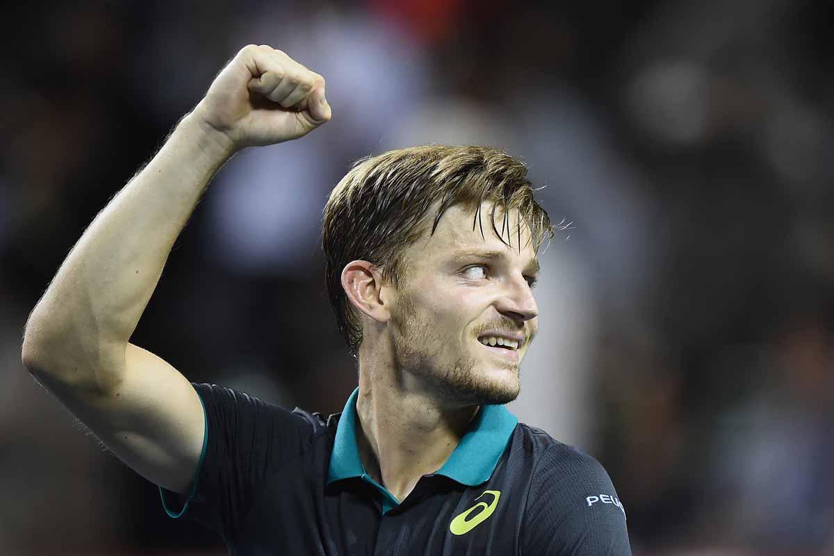 David Goffin bate Rafa Nadal e alcança primeira vitória nas ATP World Tour Finals