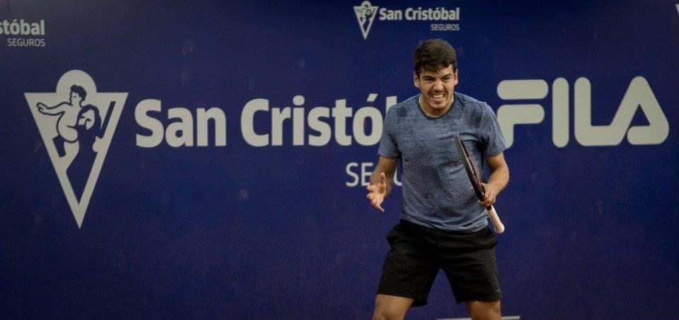 João Domingues vê adversário desistir e avança aos oitavos de final na Colômbia