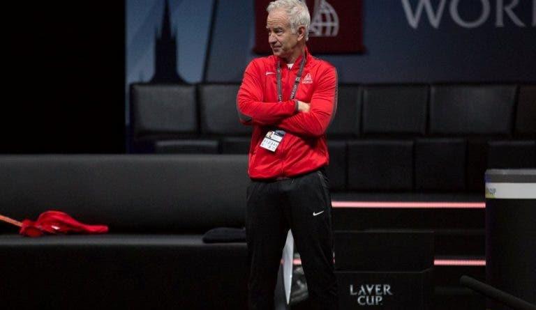 McEnroe: «Quando vi as bancadas cheias no Adria Tour perguntei se era real»