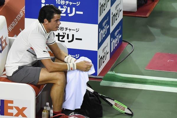 Milos Raonic sobre lesão em Tóquio: «Tem sido um ano difícil e frustrante»