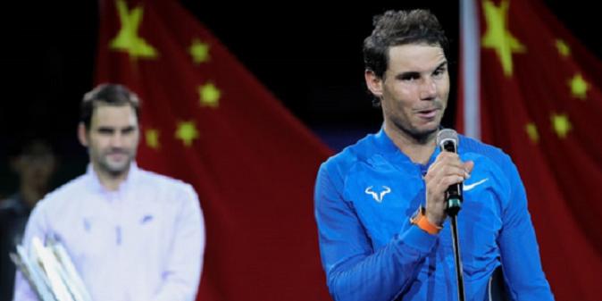 40 por cento das derrotas de Nadal em 2017… foram diante de Federer