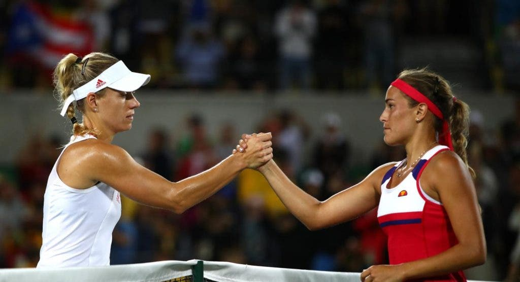 Na reedição da final dos Jogos Olímpicos, Puig derrota novamente Kerber e avança no Luxemburgo
