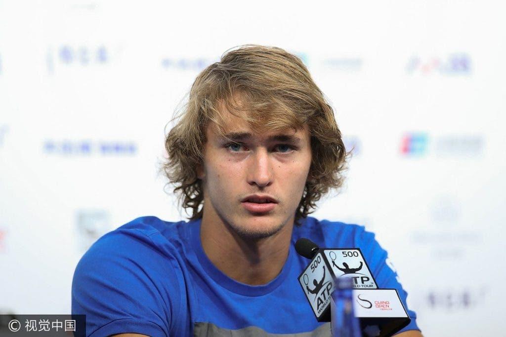 Zverev: «Quero melhorar o meu desempenho nos Grand Slams»