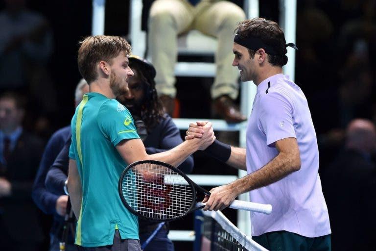 Goffin reconhece: «Defrontar o Federer é sempre especial»