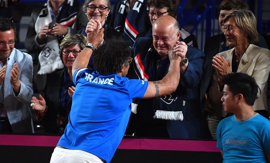 Yannick Noah renova com a Federação Francesa e continua à frente das seleções