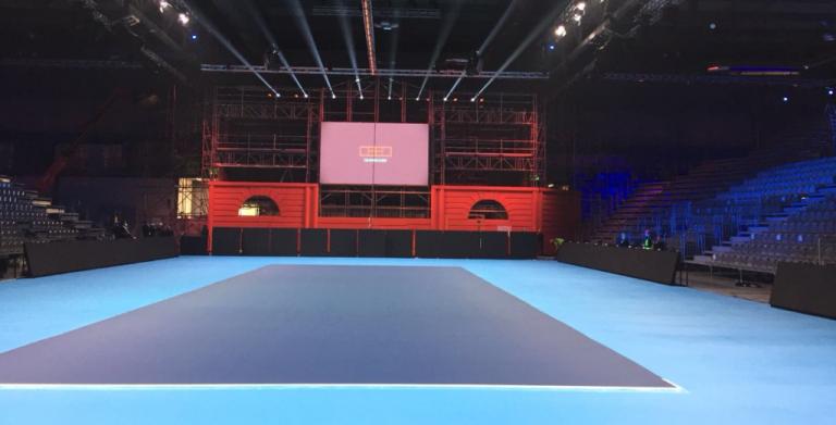 [FOTOS] Milão apronta-se para receber as NextGen Finals num court… sem linha de pares