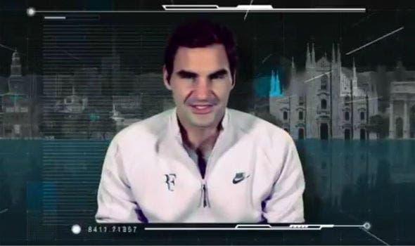 [VÍDEO] Roger Federer ajuda a apresentar as NextGen Finals