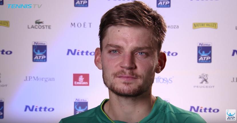 Goffin: «Não é injusto perder na final de um torneio em que se derrota Nadal e Federer»