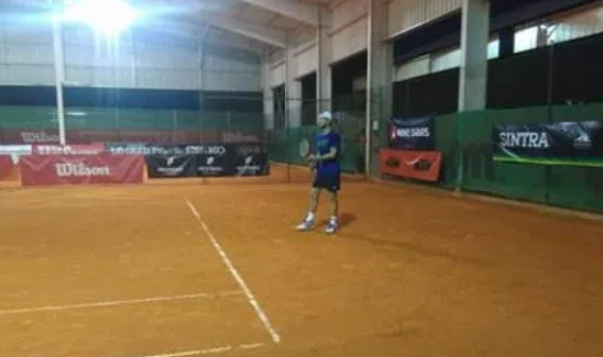 [FOTOS] Treino de Joões. João Sousa e João Monteiro treinam juntos na Beloura
