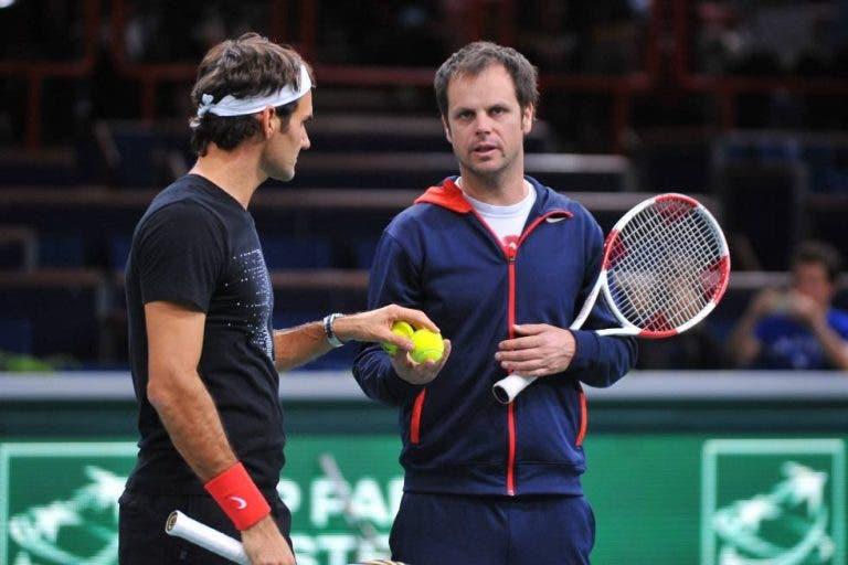 Luthi: «Federer vem de uma cirurgia, não tem que ter pressão»
