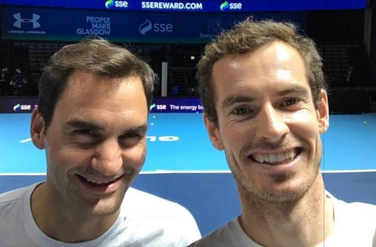 Federer sobre Murray: «Não tem inimigos, precisamos de pessoas como ele»