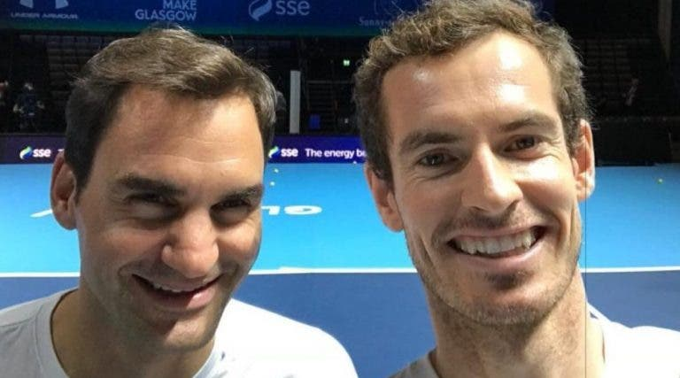 Federer, Nadal e Djokovic foram protagonistas no documentário de Murray: «Esta é a reação de um campeão»
