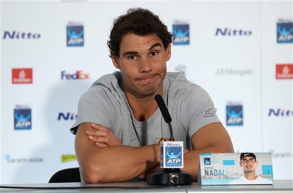 OFICIAL! Rafa Nadal desiste das ATP Finals devido a lesão no joelho