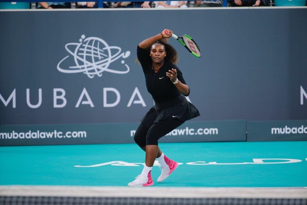 [VÍDEO] E foi assim o primeiro encontro de Serena Williams depois de ter sido mãe