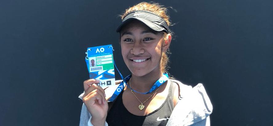 Destanee Aiava, uma menina nascida em 2000 (!) vence Playoff e ganha convite para o Australian Open