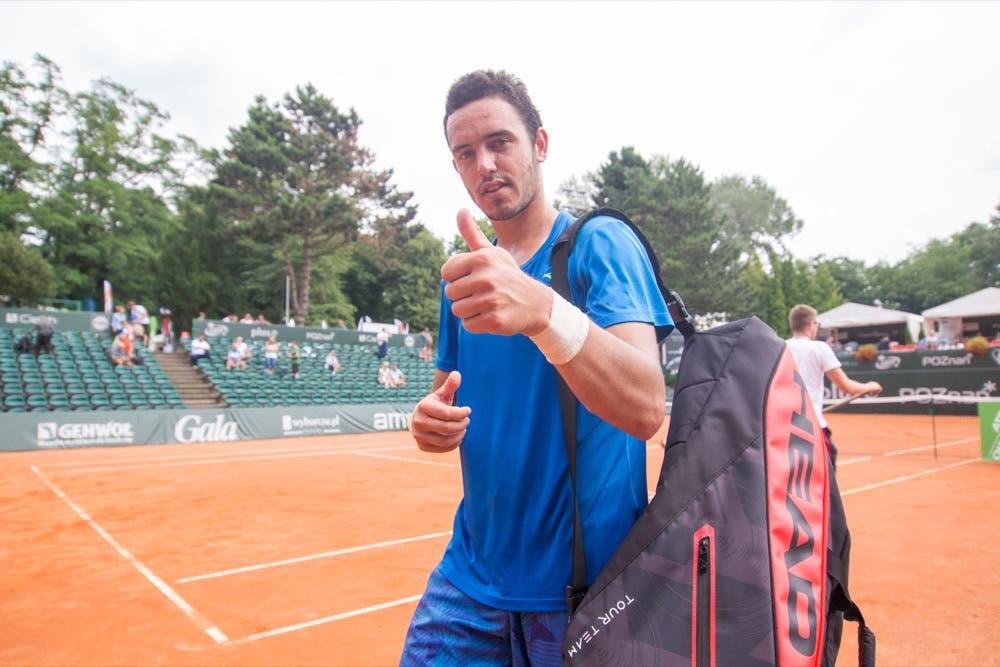 Em grande. Gonçalo Oliveira avança à segunda final consecutiva na Tunísia e aproxima-se do top 200