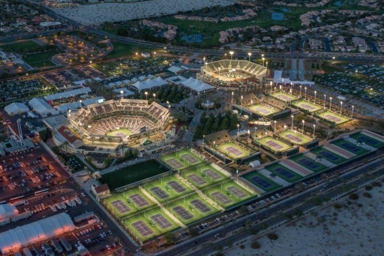Indian Wells supera público de dois Grand Slams