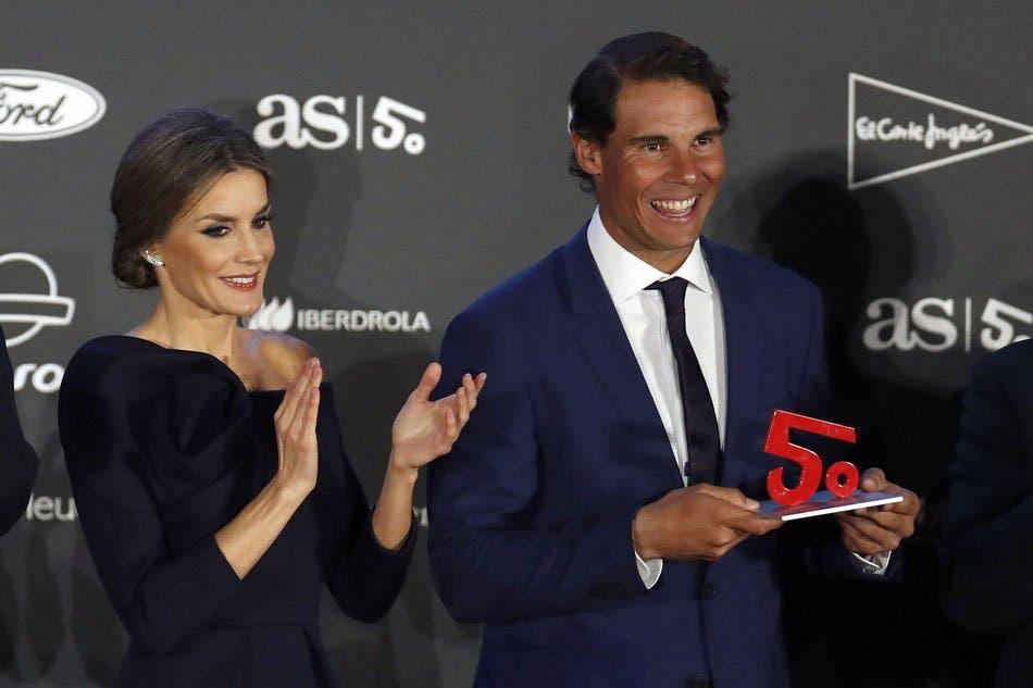 Nadal coroado melhor desportista espanhol dos últimos 50 anos