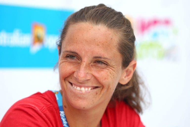 Roberta Vinci: «Gostava de treinar Garbine Muguruza»