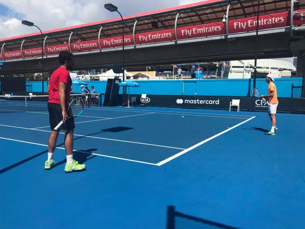 Frederico Marques: «Brown é agressivo e o court é bastante rápido»