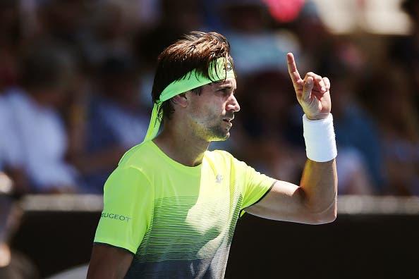 David Ferrer, o próximo adversário de João Sousa, entrou em 2018 com um novo patrocinador de raquetes