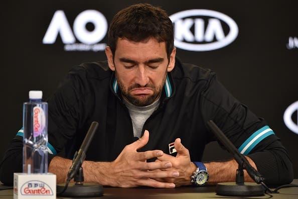 Marin Cilic volta atrás e já não vai a jogo no Mutua Madrid Open