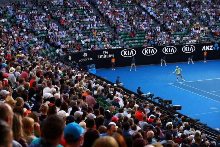 Mais de 740 MIL espetadores: novo recorde de assistência para o Open da Austrália