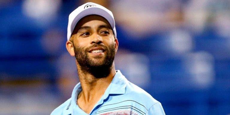 James Blake revela o tenista que mais gostava de treinar…E não faz parte do Big 3