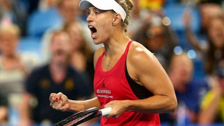 Kerber continua em grande, derrota Venus e avança para os 'quartos' em Sydney