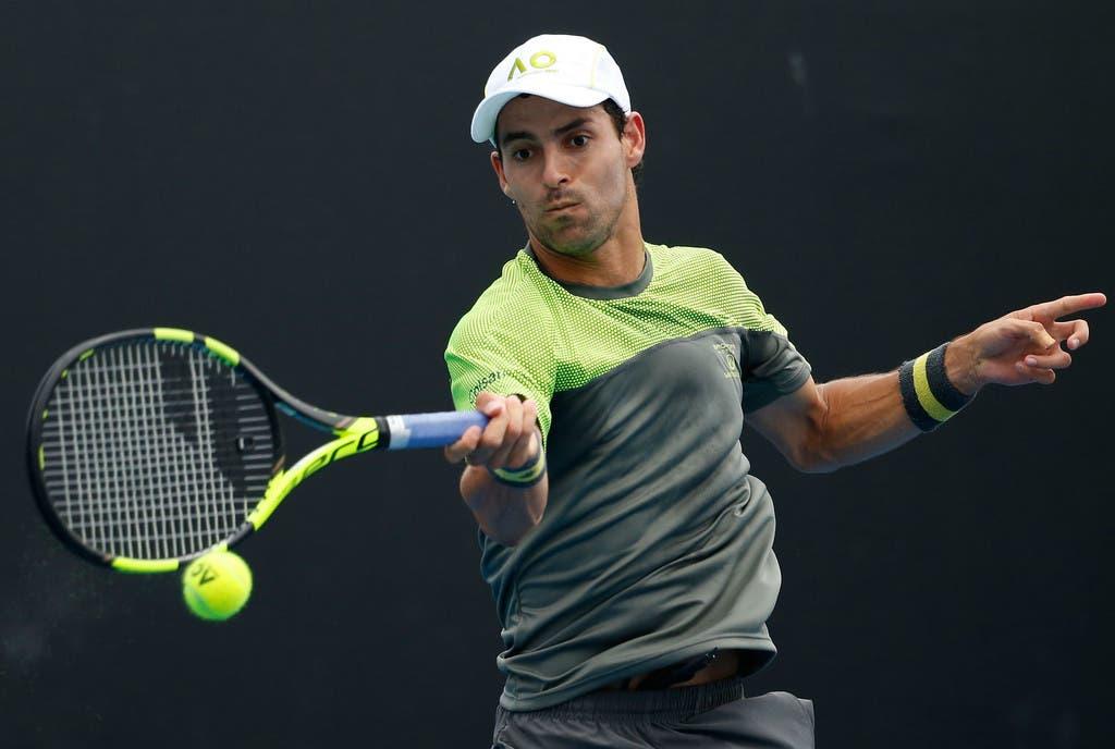 """Afastado do ténis, Giraldo desabafa: """"Adoro jogar e viajar. O meu cansaço tinha tudo a ver com a competição"""""""