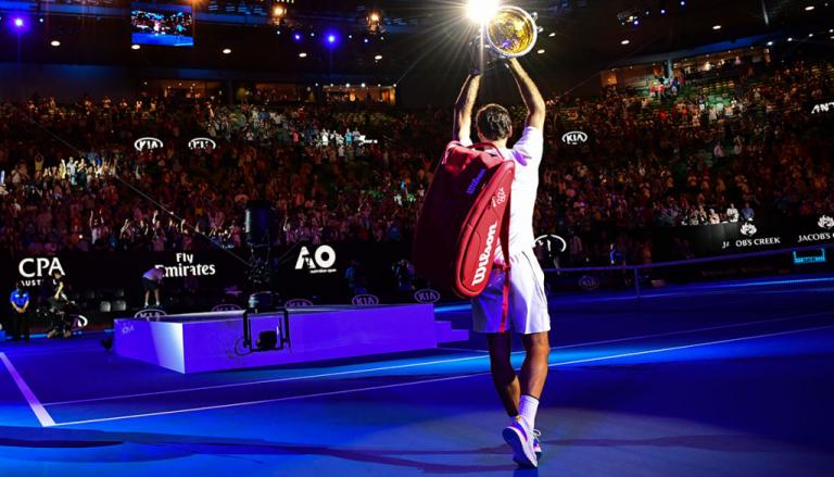Federer ganhou 10 por cento do TOTAL dos Grand Slam da Era Open