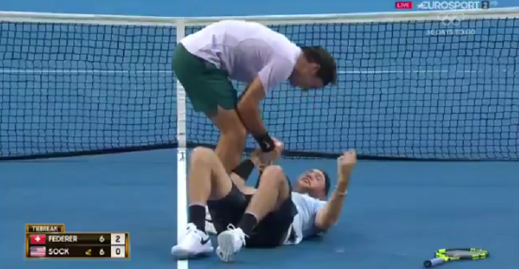 Roger Federer: «Jack Sock é bom para o ténis»