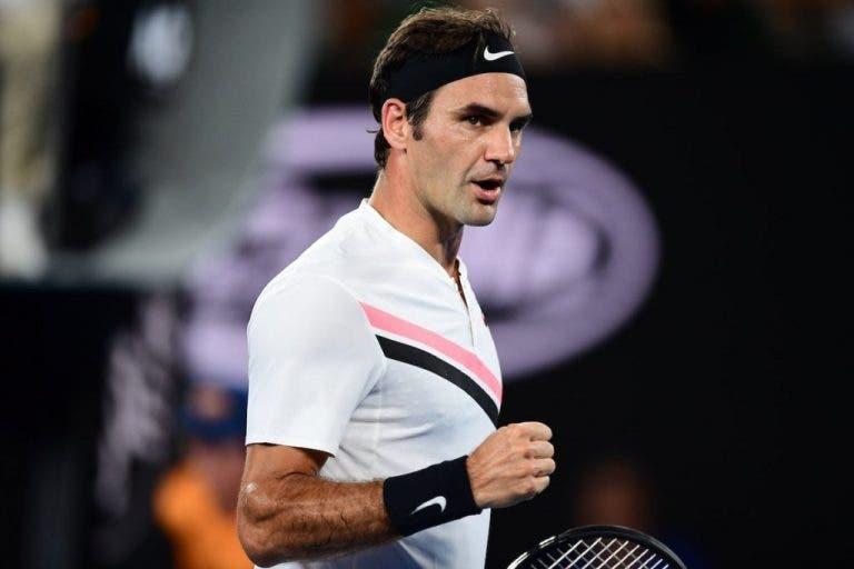 Mais um recorde: ninguém na Era Open tem mais finais do que Roger Federer no Open da Austrália