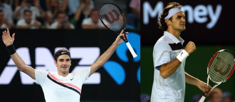 Federer de 2007 vs. Federer de 2018: quem ganhava? Ele não tem quaisquer dúvidas