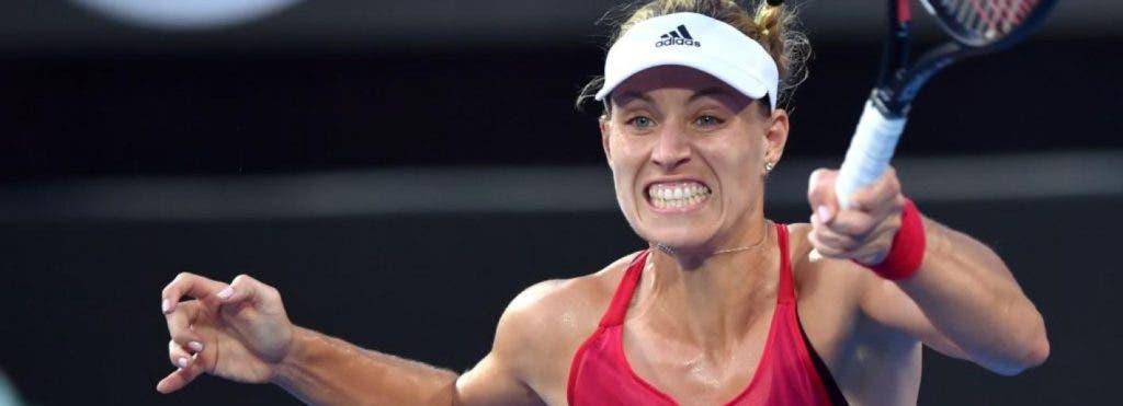 Kerber soma oitava vitória seguida em 2018 e defronta Barty na final de Sydney