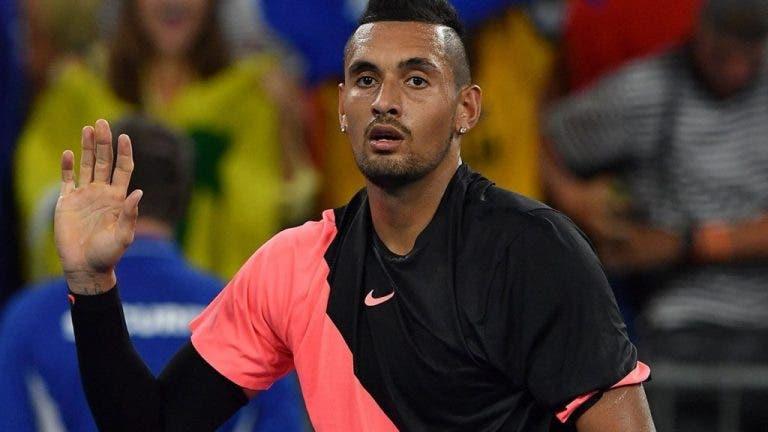 Nick Kyrgios desiste de Roland Garros
